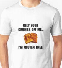 Crumbs Off Me Gluten Free Unisex T-Shirt