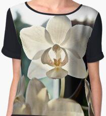 Orchid Shadows Women's Chiffon Top