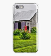 Barn with the Red Door iPhone Case/Skin