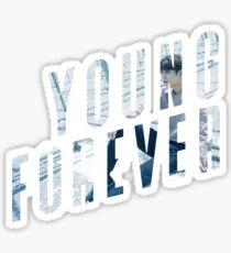 Pegatina BTS - Young Forever Jungkook