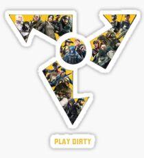 Dirty Bomb Mercs Sticker