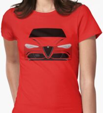 Red Italian Stallion Womens Fitted T-Shirt