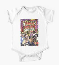 Dollar Theater Vintage-Style Poster Art One Piece - Short Sleeve