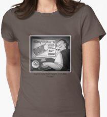 "Citizen Kane Finds ""Rosebud"" (Film Geek Humor) Women's Fitted T-Shirt"
