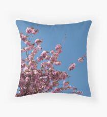 Cherry Blossoms #1 Throw Pillow