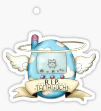 R.I.P Tamagotchi Sticker