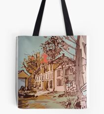 The Old Mill House Tote Bag