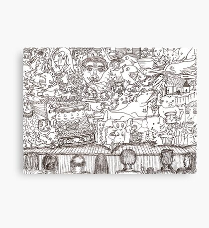 Doodles - The Stage Show Canvas Print