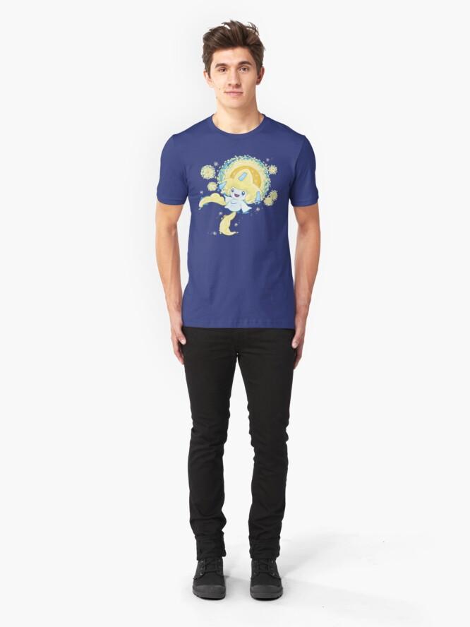 Vista alternativa de Camiseta ajustada Deseo estrellado