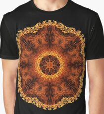 Radial matched Graphic T-Shirt