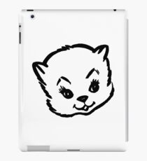 Cute kitty iPad Case/Skin