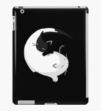 Yin Yang Cats - version 2 iPad Case/Skin