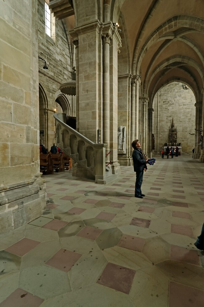Cathedral,  Bamberg 9 by Priscilla Turner