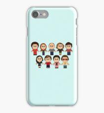 THAT 70'S SHOW - MAIN CHARACTERS CHIBI - MANGA 70'S SHOW iPhone Case/Skin