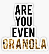 Are You Even Granola? Sticker