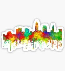 Cleveland, Ohio Skyline - SG Sticker
