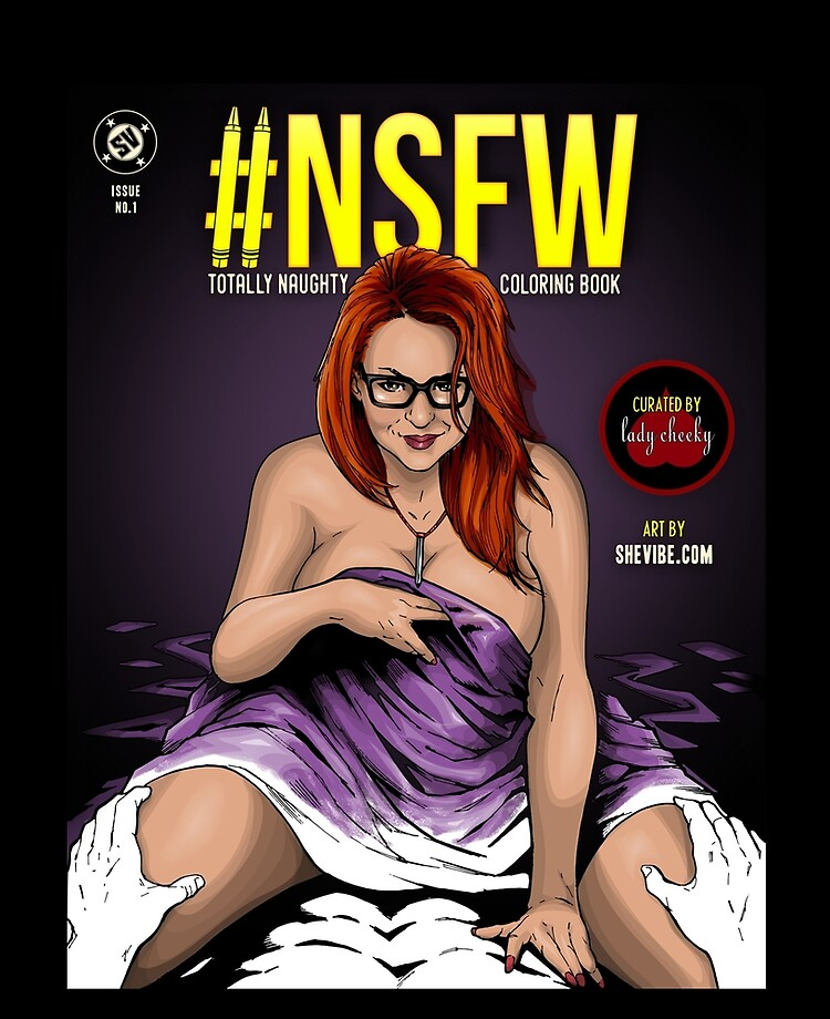 Shevibe Presents Nsfw Totally Naughty Coloring Book Edited By Lady Cheeky Ipad Case Skin