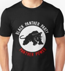 THE BLACK PANTHER PARTY Unisex T-Shirt