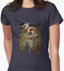 Boreas in the Wind Womens Fitted T-Shirt