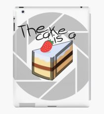 Portal Cake iPad Case/Skin