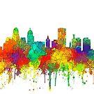 Buffalo, New York Skyline - SG von Marlene Watson