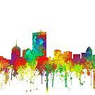 Boston, Massachusetts Skyline - SG von Marlene Watson