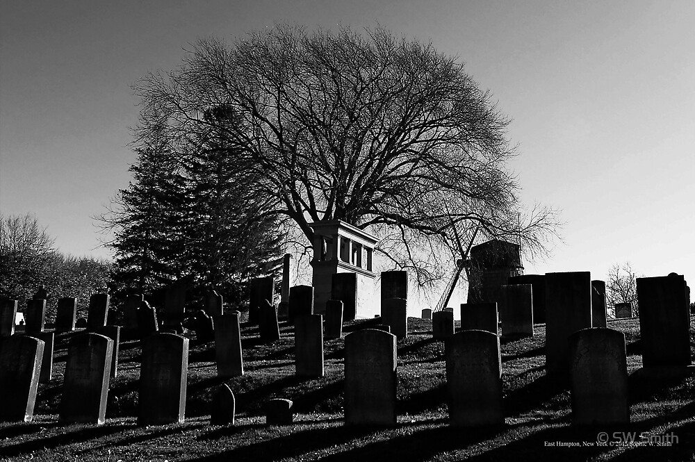 South End Cemetery | East Hampton, New York by © Sophie W. Smith