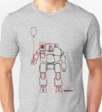 Hunchie has a Balloon  Unisex T-Shirt