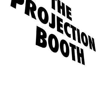The Projection Booth - Paizs Logo - Black by impossiblefunky