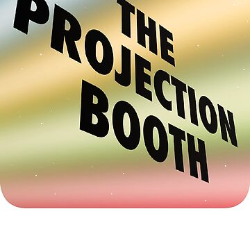 The Projection Booth - Paizs Logo - Rainbow by impossiblefunky