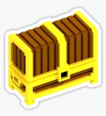 Voxel Chest Sticker