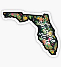 Florida - The Sunshine State Sticker