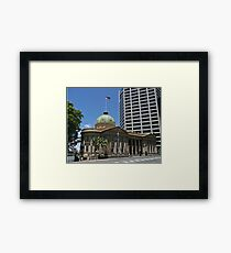 Customs House building, Brisbane Framed Print