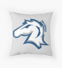 Hillsdale Chargers Throw Pillow