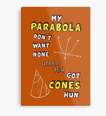 My Parabola Metal Print
