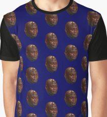 Crying Michael Jordan  Graphic T-Shirt