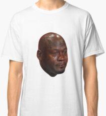 Crying Michael Jordan  Classic T-Shirt