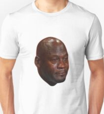 Crying Michael Jordan  Unisex T-Shirt