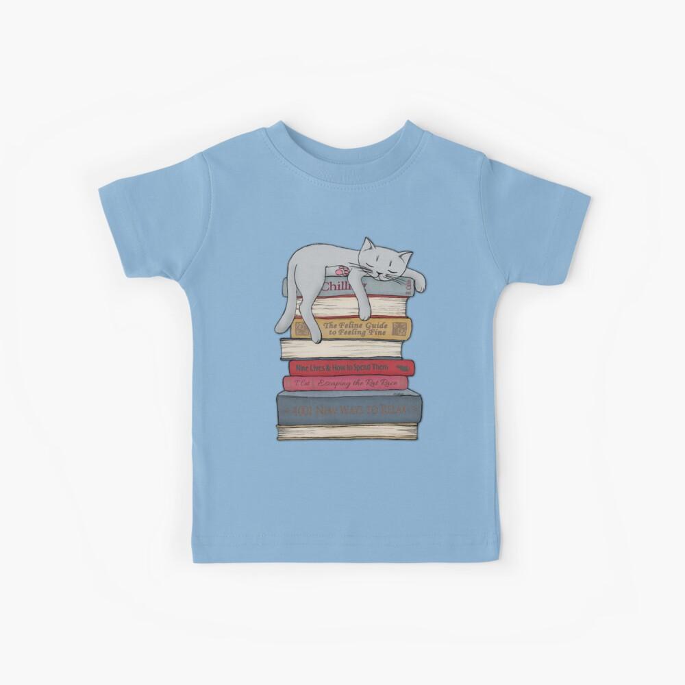 Wie man wie eine Katze chillt Kinder T-Shirt