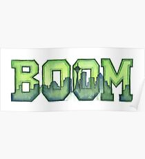 Legion of Boom 12th Man Art Seattle Space Needle Poster