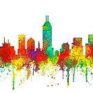 Skyline von Indianapolis, Indiana - SG von Marlene Watson