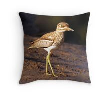 Water Thick-knee Throw Pillow