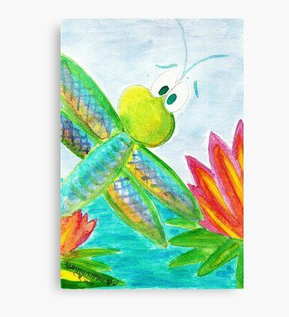 Sunshine Coast Dragonfly Canvas Print