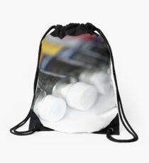 Paint Tubes Drawstring Bag