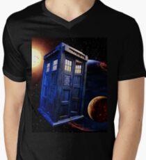 Time Flight 3 Men's V-Neck T-Shirt