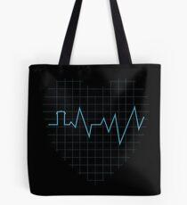 Whovian Heartbeat Tote Bag