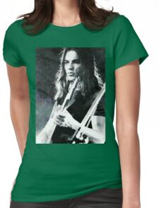 David Gilmour Womens Fitted T-Shirt