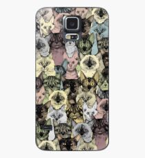 just cats retro Case/Skin for Samsung Galaxy