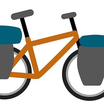 Travel bike by xgradoux