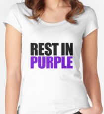 RIP Prince Rogers Women's Fitted Scoop T-Shirt